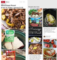 This Super Simple Mississippi Pot Roast Recipe is Going Viral  - Delish.com