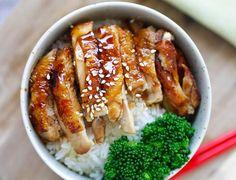 Ce délicieux repas de poulet teriyaki est facile à préparer, savoureux et bon pour la santé!