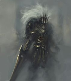 The Nameless King, firstborn son of Gwyn, was a god of war Soul Saga, Dark Souls Art, Dark Blood, Storm King, Knight Art, Happy Soul, Illustration Mode, Game Concept Art, The Masterpiece