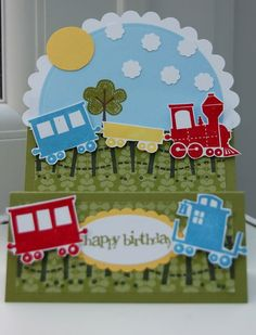 Stampin Up Choo Choo
