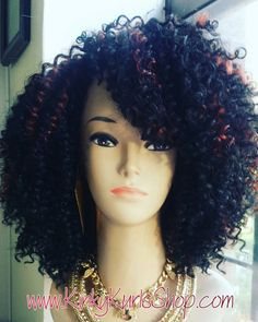 Crochet Braids Brooklyn : Braids Crochet Wig Kinky Kurls By Kebrina Pinterest Brooklyn ...