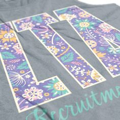 Zeta Tau Alpha - ZTA - Zeta shirts - Recruitment shirts - Recruitment tanks - Sorority Shirts - Sorority tanks - Zeta tshirts - Check out b-unlimited.com!