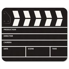 Clapperboard Mousepad The post Clapperboard Mousepad appeared first on Trendy. Youtube Party, Cinema Party, Kids News, Outdoor Movie Nights, Movie Night Party, Diy Tumblr, Movie Themes, Hollywood Party, Boss Baby
