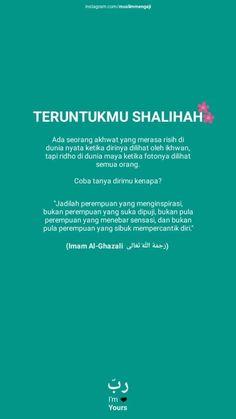 New Reminder, Reminder Quotes, Islamic Inspirational Quotes, Islamic Quotes, Love Me Quotes, Daily Quotes, Quran Quotes, Qoutes, Jodoh Quotes