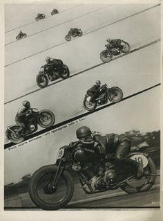 #retro #motorcycle racing posters