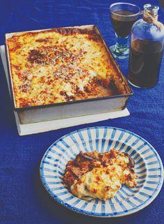 Moussaka Recipe Vegetarian, Vegetarian Recipes Dinner, Veggie Recipes, Cooking Recipes, Healthy Recipes, Veg Dishes, Vegetable Dishes, Mousaka Recipe, Recipes