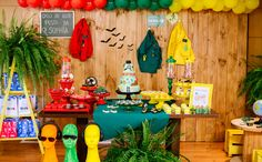 Festa infantil com o tema 'Os Detetives do Prédio Azul' no 'Fazendo a Festa' - Fazendo a Festa - GNT