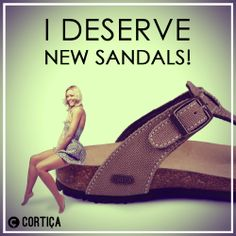 Do you deserve a pair of new, fabulous sandals! If you're ready to go sandal shopping, check out Cortica shops at store in The Grand Palace, Grand City Mall Surabaya - Ground & First floor. #corticalove