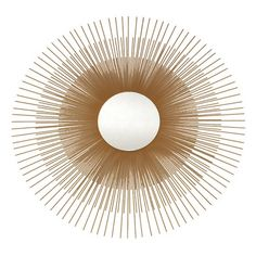 Just got this- I pinned this Ashton Sutton Sunburst Mirror from the Summer Thornton Design event at Joss and Main!