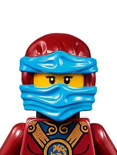 Nya: Zack loves Ninjago Legos and doesn't have Nya or Sensei Wu yet.