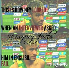 What You Must Know About The Game Of Football. You are someone that has shown an inkling towards the game of football, and to better enjoy the game more you want to learn some new tricks. Yes, football Neymar Memes, Neymar Pic, Neymar Football, Love You Babe, Funny Times, World Cup 2014, Best Player, Meme Faces, New Tricks