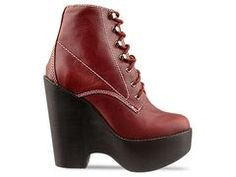 Jeffrey Campbell Tardy in Red