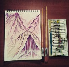 Watercolour, Sketches, Fantasy, Drawings, Cover, Illustration, Instagram, Art, Pen And Wash
