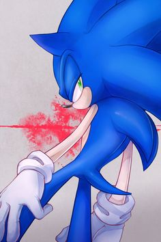"""9-sonic was in the worst mood ever, he didn't like Abigail, and no one knew why... Nether did sonic,he just didn't, so he said """"why would I care! Why SHOULD I?"""""""
