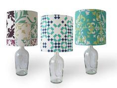 Luminária Artesanal - Veja Mais de 65 Modelos Lindos Bed Lights, Mason Jar Lamp, Staging, Table Lamp, Diy Crafts, Home Decor, Casa Retro, Diy Lamps, Google