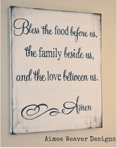 Blessing Sign by Aimee Weaver Designs