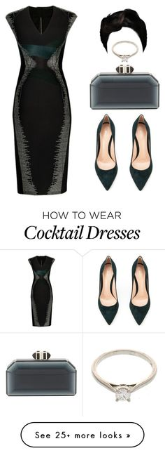 """Untitled #2460"" by princessceairra on Polyvore featuring PINGHE, Gianvito Rossi, Judith Leiber and Cartier"