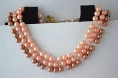 Necklace Vintage Multilayered Beads Necklaces by eventsmatters
