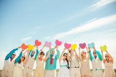 Creative Wedding Photos - Bridal Party Photos | Wedding Planning, Ideas & Etiquette | Bridal Guide Magazine