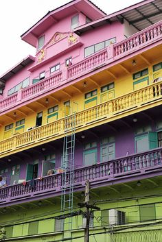 House of many colors - Bangkok