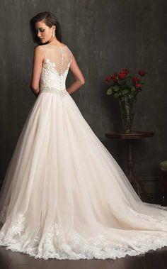Allure Bridals 2014 #weddingdress #sopretty
