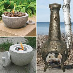 New Product Spotlight: Deeco Chimineas and Fire Pits make a great addition to your backyard #backyard #patio #products http://www.mantelsdirect.com/mantel-blog/New-Product-Spotlight-Deeco-Chimineas-and-Fire-Pits