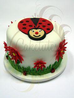 Caketutes Cake Designer: Bolo Joaninha - Ladybug Cake