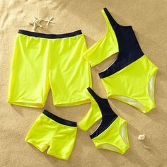 One-Shoulder Matching Swimsuit for Summer Source by patpatshopping Bathing Suits For Teens, Summer Bathing Suits, Cute Bathing Suits, Mommy And Me Outfits, Kids Outfits, Cute Outfits, Boy Fashion, Fashion Outfits, Matching Couple Outfits