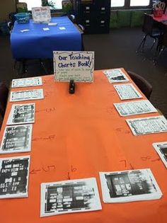 take photos of classroom anchor charts, and the kids make it into a take home book to remember all the learning strategies, etc.!