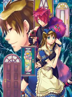 """The Cheshire Cat Waltz"" - Alice in the Country of Hearts, manga, game, anime"