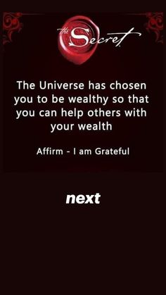 Positive Affirmations Quotes, Wealth Affirmations, Law Of Attraction Affirmations, Affirmation Quotes, Positive Quotes, Faith Quotes, Life Quotes, Secret Quotes, Inspirational Quotes