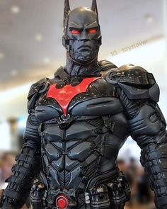 "calvin tsui on Instagram: ""Could you name this bat suit ? Thanks in advance ⋯⋯ 。 。 Follow @toyzlover for more toys 😊~ 。 。  #toyzlover #batman #ironman #dccomics…"""