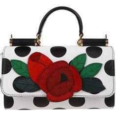 Dolce & Gabbana Shoulder Bags (€652) found on Polyvore featuring women's fashion, bags, handbags, shoulder bags, dolce gabbana shoulder bag, shoulder bag purse, dolce gabbana purses, shoulder hand bags and shoulder bag handbag