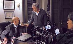 David Fincher on set. Movie Creator, David Fincher, Film Movie, Movies, House Deck, New Deck, House Of Cards, Viera, On Set