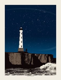 Coastal Extinction by Powerslide Design Co -- another print from Cabaret