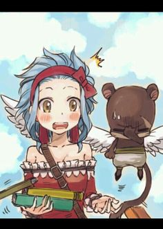 """gajeel just showed levy the """"I love Levy"""" shirt Lily's face is like """"GOD GAJEEL YOU HAD ONE JOB one job"""" lol"""
