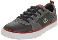 LACOSTE Kids' Hattori Grd (Black/Grey 5.0 M) Lacoste. $66.50