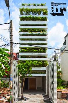 Stacking Green House in Vietnam