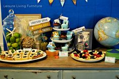 Vintage Fishing Themed Birthday Party! - Spaceships and Laser Beams