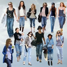 boyfriend jeans outfits - Google Search