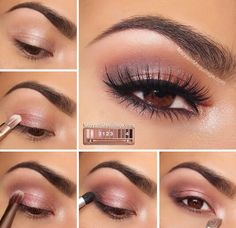 Pictorial using #urbandecay naked 3 palette