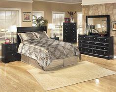 Shay 3 Pc. Bedroom - Dresser, Mirror & Queen/Full Panel Headboard