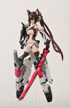 Character Concept, Character Design, Zbrush, Mecha Suit, Manga, Frame Arms Girl, Gundam Custom Build, Robot Girl, Anime Figurines