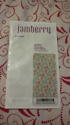 Ebay 099 Cent Auctions NEW Sealed Jamberry 2 Sheets March 2017 Host Exclusive Nail Wraps