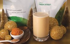 Pumpkin spice Protein shake  Made with pumpkin purée and Arbonne vanilla protein powder