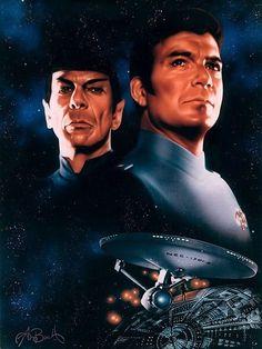 Shatner on Star Trek: The Motion Picture - The Extra Long Version Star Trek Ii, Reaching For The Stars, Art Base, Good Movies, Movie Stars, Comic Art, Movie Tv, Sci Fi, Fine Art