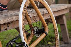 Faux Wooden Bike by Velonia Bicycles & WOODaLIKE