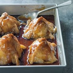 Old Fashioned Apple Dumplings from Williams Sonoma-- For this old-fashioned apple dumplings recipe, a buttery, flaky dough cloaks sweet-tart apples stuffed with almond streusel. Apple Desserts, Apple Recipes, Fall Recipes, Dessert Recipes, Thanksgiving Recipes, Thanksgiving Baking, Mexican Desserts, Vegetarian Thanksgiving, Thanksgiving Leftovers