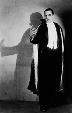 Bela Lugosi photographed by Florence Vandamm for the stage adaptation of Dracula (1927)