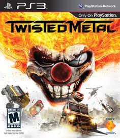 Sony 98106 Twisted Metal for Playstation 3 - - Description:Twisted Metal for Twisted Metal returns with unhinged car combat destruction and action movie mayhem. Ps3 Games, Playstation Games, Sony, Latest Video Games, Twisted Metal, Keys Art, Single Player, God Of War, Box Art